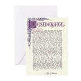 Desiderata Greeting Cards (10 Pack)