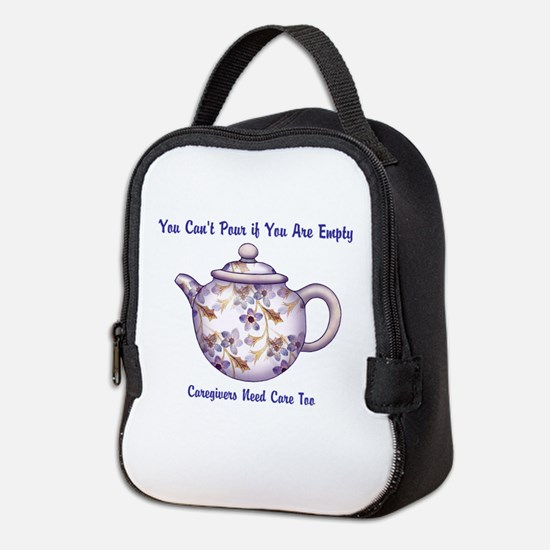 You Cant Pour if You Are Empty Neoprene Lunch Bag