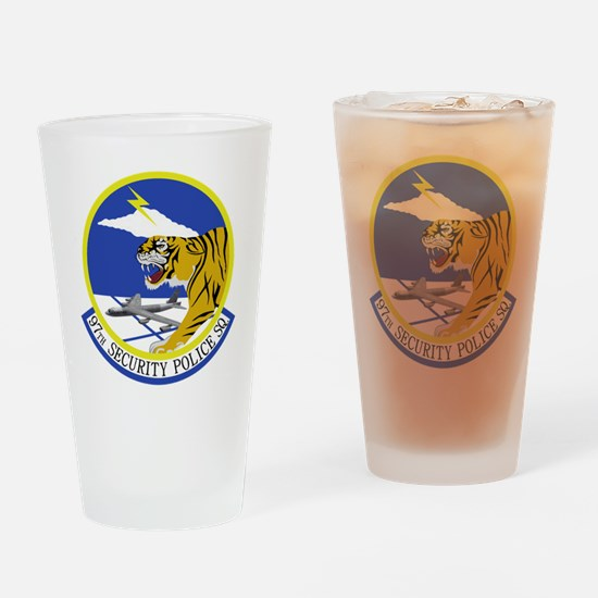 97th Security Police Squadron Drinking Glass