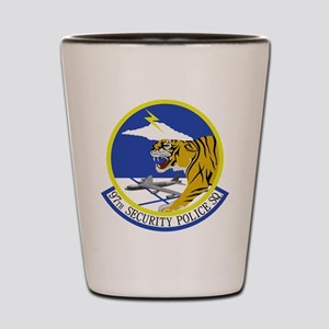 97th Security Police Squadron Shot Glass