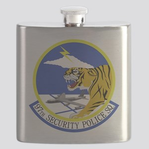 97th Security Police Squadron Flask