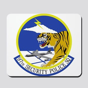 97th Security Police Squadron Mousepad