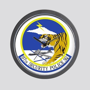 97th Security Police Squadron Wall Clock
