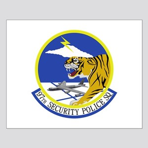 97th Security Police Squadron Small Poster