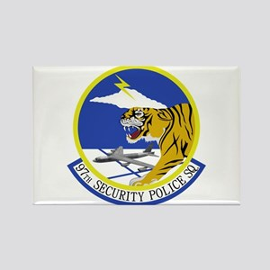 97th Security Police Squadron Rectangle Magnet