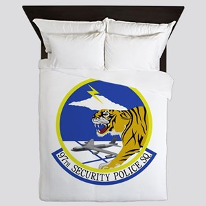 97th Security Police Squadron Queen Duvet