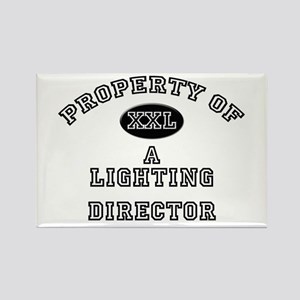 Property of a Lighting Director Rectangle Magnet