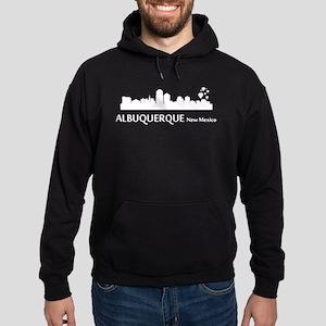 Albuquerque Cityscape Skyline Hoodie