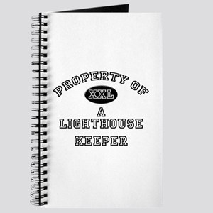 Property of a Lighthouse Keeper Journal