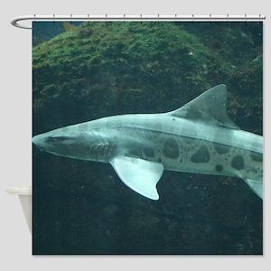 LEOPARD SHARK Shower Curtain