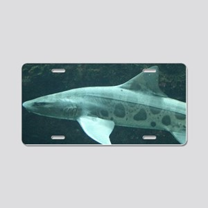 LEOPARD SHARK Aluminum License Plate