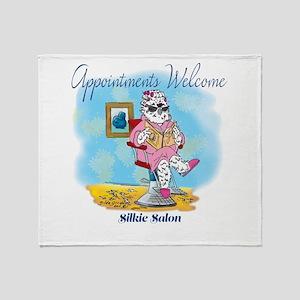 Silkie Salon Throw Blanket