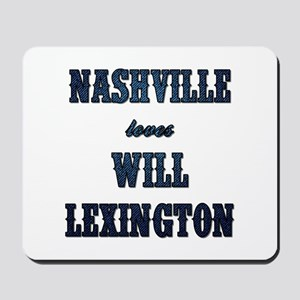 NASHVILLE LOVES... Mousepad