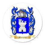Martyns Round Car Magnet