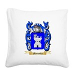 Martynka Square Canvas Pillow