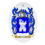 Martynka Oval Ornament