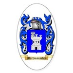 Martynanychev Sticker (Oval)