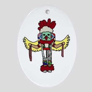 kachina Oval Ornament