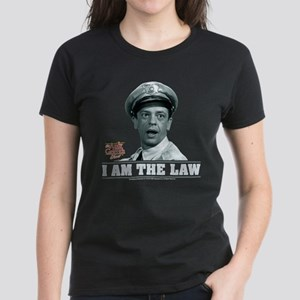 I Am The Law Women's Dark T-Shirt