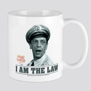 I Am The Law Mug
