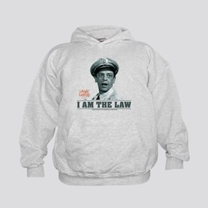 I Am The Law Kids Hoodie