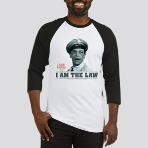 I Am The Law Baseball Jersey