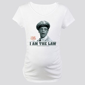 I Am The Law Maternity T-Shirt