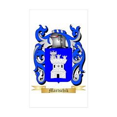 Martschik Sticker (Rectangle 10 pk)