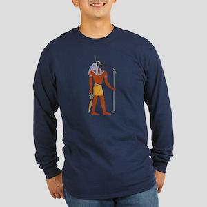 Anubis Long Sleeve Dark T-Shirt
