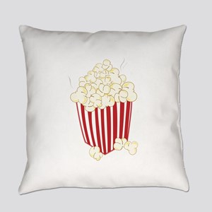 Bucket Of Popcorn Everyday Pillow