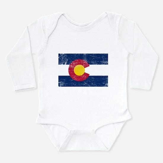 Unique Colorado pride Long Sleeve Infant Bodysuit