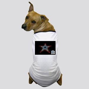 Star with Plaque Dog T-Shirt