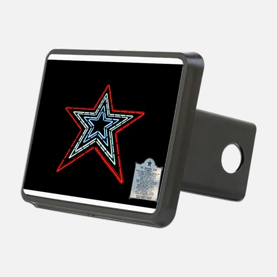 Star with Plaque Hitch Cover