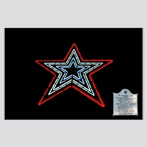 Star with Plaque Posters