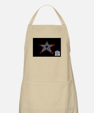 Star with Plaque Apron