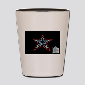Star with Plaque Shot Glass