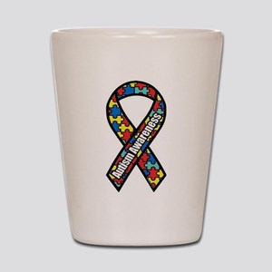 Autism Awareness Shot Glass
