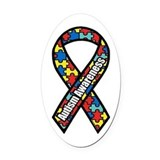 Awareness Oval Car Magnets