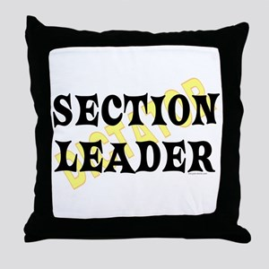 Section Leader Throw Pillow