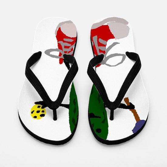 Cool Pickle Flip Flops