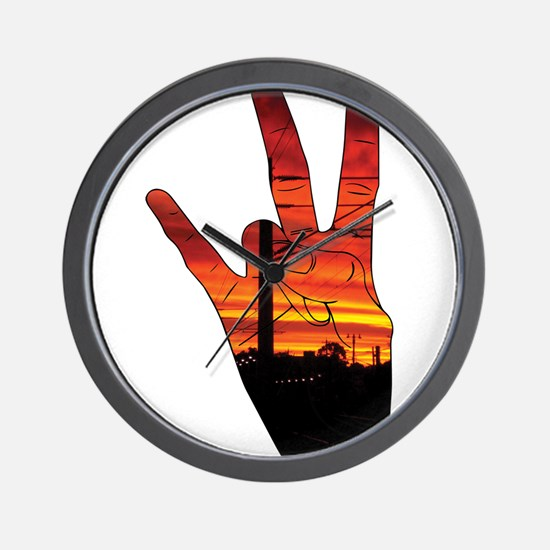 West side hand Wall Clock