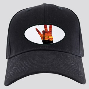 West side hand Black Cap