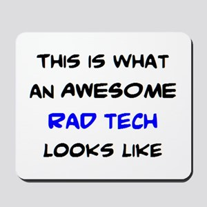 awesome rad tech Mousepad