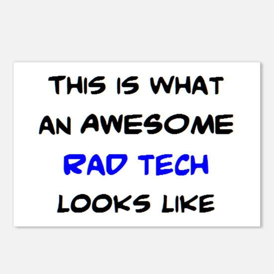 awesome rad tech Postcards (Package of 8)