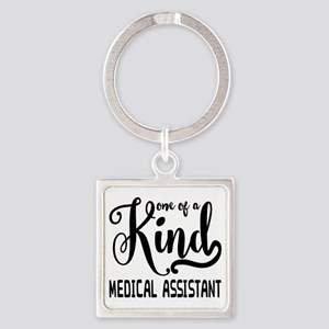 Medical Assistant Square Keychain
