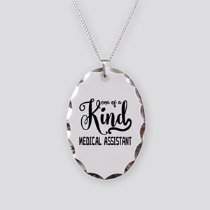 Medical Assistant Necklace Oval Charm