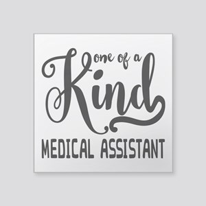 "Medical Assistant Square Sticker 3"" x 3"""