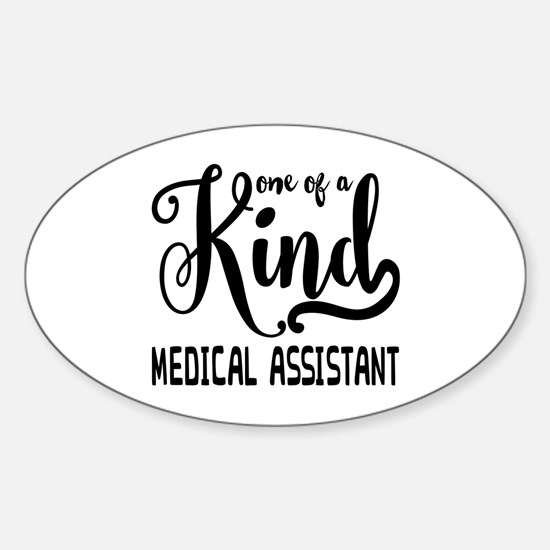 Medical Assistant Sticker (Oval)