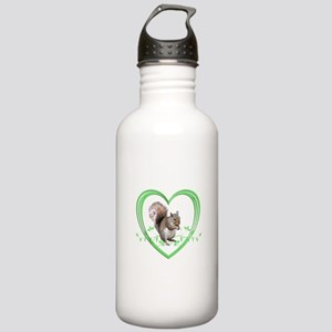 Squirrel in Heart Stainless Water Bottle 1.0L