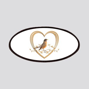Robin in Heart Patch